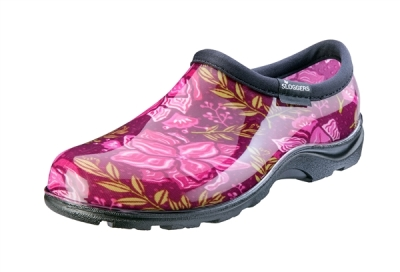 SLOGGERS FUSCHIA GARDEN SHOES - $29.95
