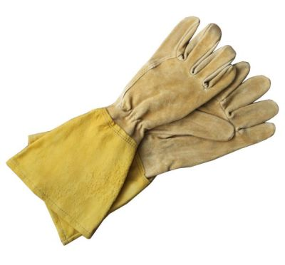 MEN'S LEATHER GAUNTLET GLOVE - $44.95