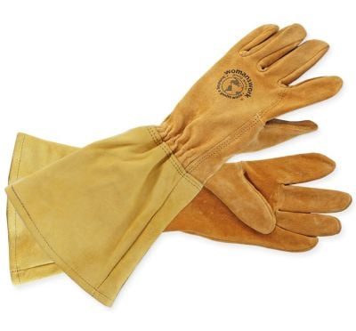 LADIES LEATHER GAUNTLET GLOVE - $42.95