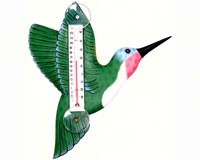HUMMINGBIRD THERMOMETER - $9.95