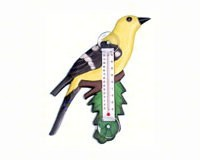 GOLDFINCH THERMOMETER - $9.95