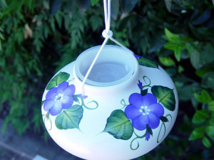 POSY HUMMINGBIRD FEEDER - $21.95