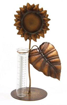 SUNFLOWER RAIN GAUGE - $26.95