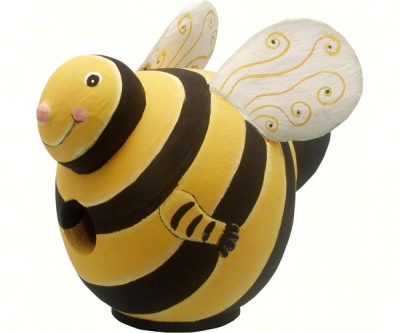 BUMBLEBEE BIRD HOUSE - $29.95