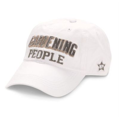 GARDENING PEOPLE CAP - $18.95