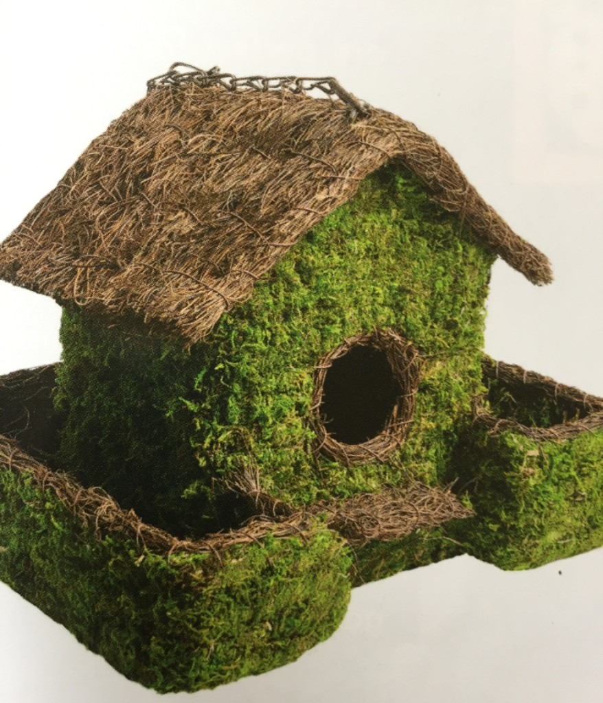 PLANTABLE BIRDHOUSE - $39.95